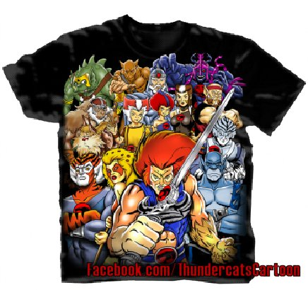 Thundercats  on Thundercats Shirt 1 Changes Releasing New Thundercats Shirts And More