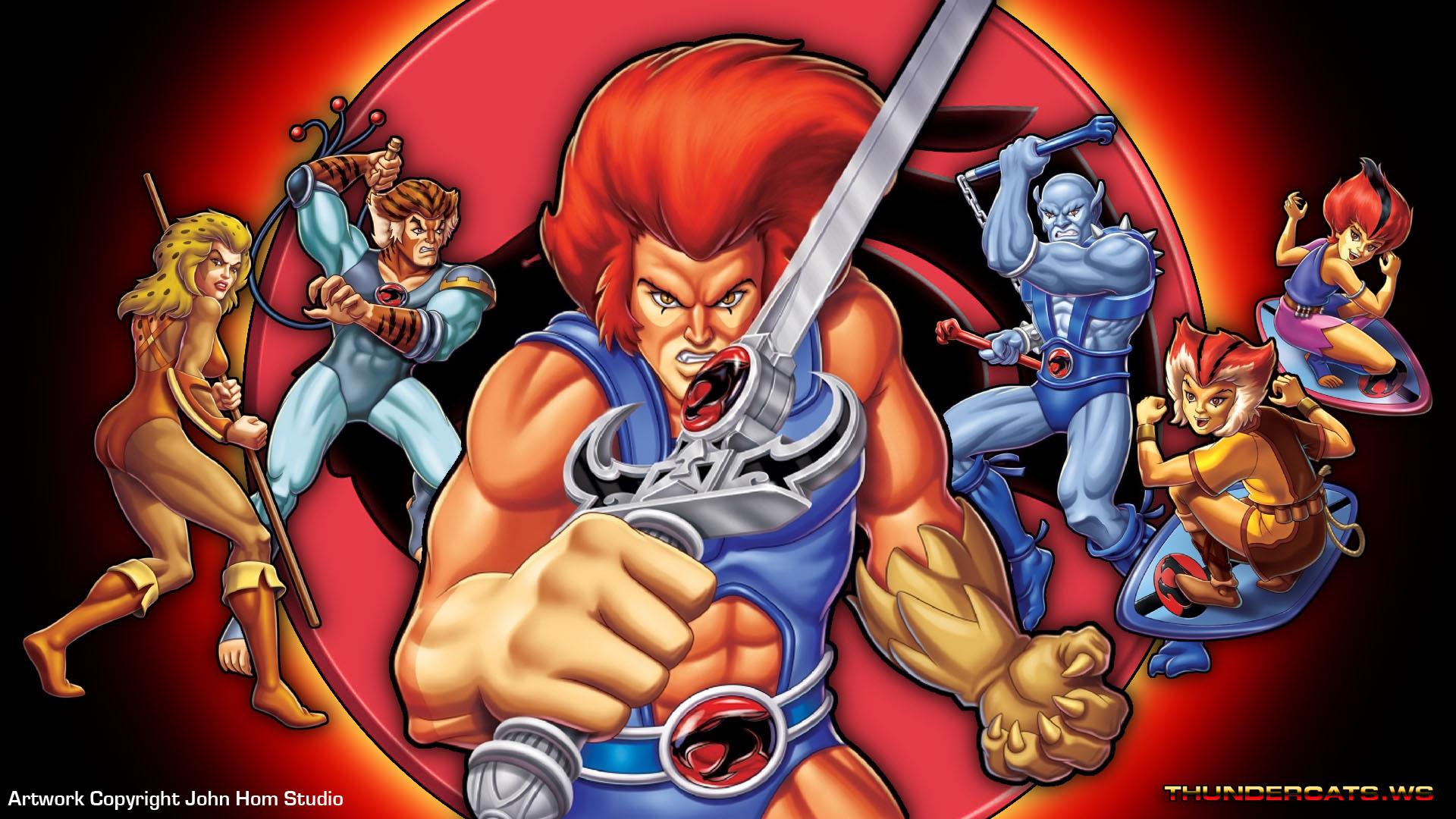 los thundercats caricaturas