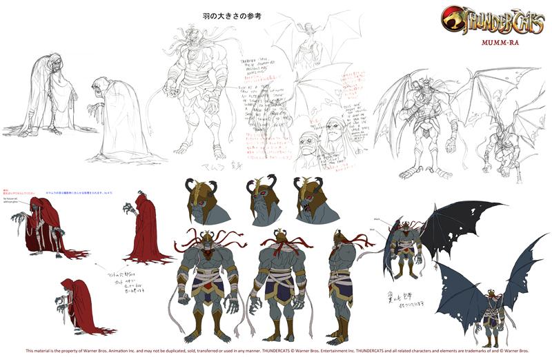 Thundercats 2011 - Info On Art Style From IGN - Thundercats.ws