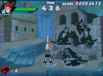 Thunder Cats Video Game on Ds Screen Shot Thundercats Ds Game Interview And Gameplay Video