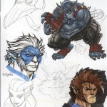 ThunderCats concept for issue 0