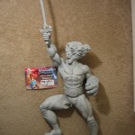 Lion O Statue Prototype 001