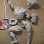 Lion O Statue Prototype 004