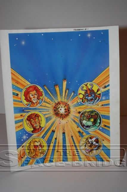 Thundercats UK Comic Issue 1 Original Artwork