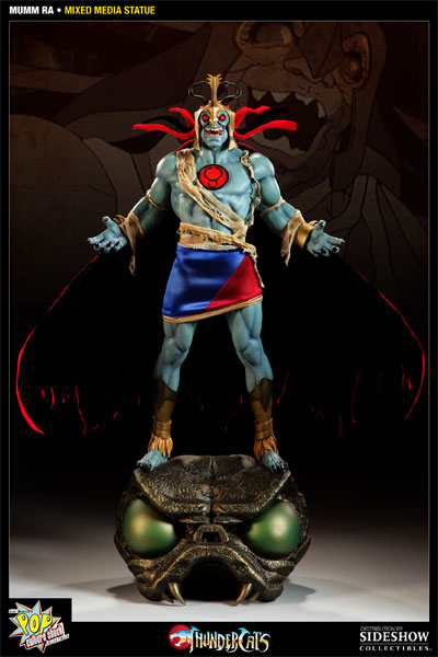 Pop Culture Shock's Mumm-Ra Statue Gallery And Info