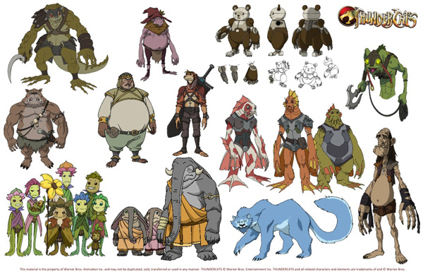 Character Design Artist Interviews : Thundercats jackalman revealed in interview