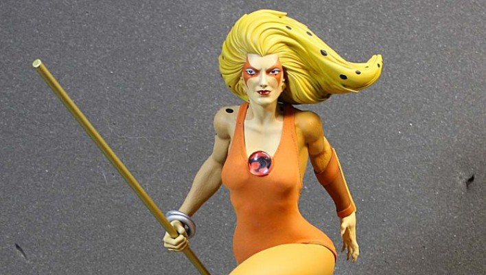 Photos of the Canceled Pop Culture Shock Cheetara Statue